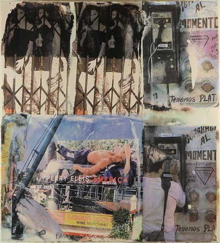 Robert Rauschenberg-Robert Rauschenberg - Los Angeles Revisited #4-1998
