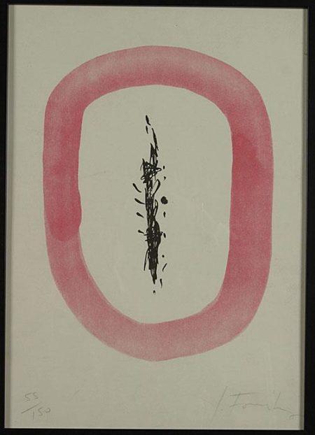 Lucio Fontana-Composition-1960