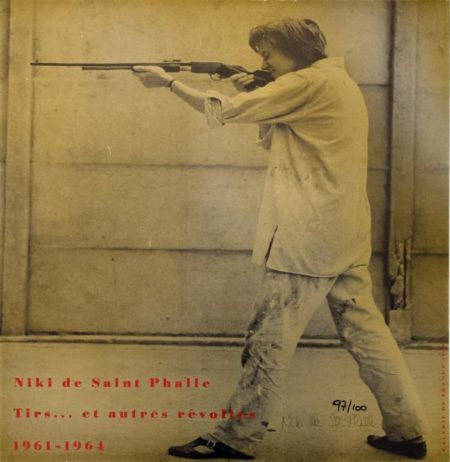 Niki de Saint Phalle-Exposition Galerie de France, (Sans titre), (Tirs...et autres revoltes)-1970