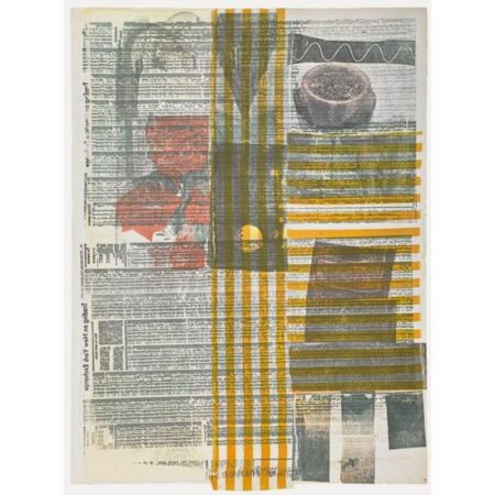 Robert Rauschenberg-Robert Rauschenberg - One More And Then We Will Be Half Way There (From Suite Of Nine Prints)-1979