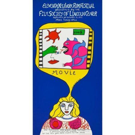 Niki de Saint Phalle-Lincoln Center Film Festival, (11Th New York Film Festival)-1973
