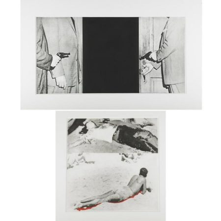 John Baldessari-Two works from Hegel's Cellar-1986