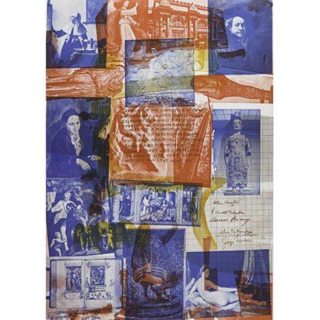 Robert Rauschenberg-Robert Rauschenberg - Centennial Certificate, Metropolitan Museum of Art/ Two works ...-1970