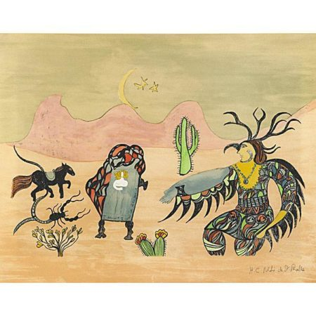 Niki de Saint Phalle-I Dreamt I was in Arizona-