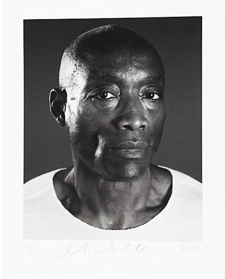 Chuck Close-Bill T. Jones / Untitled-2009