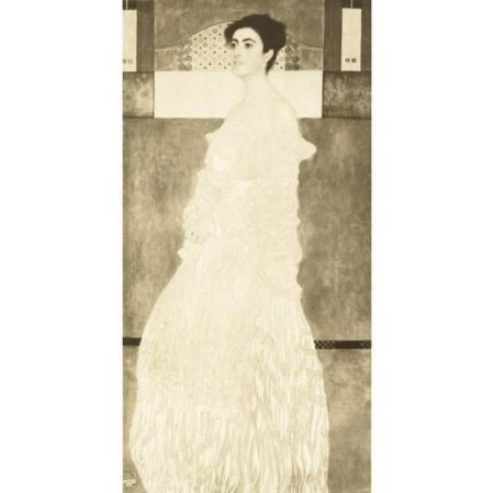 Gustav Klimt-Portrait of Baroness Wittgenstein (No. 4)-