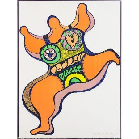 Niki de Saint Phalle-Nana, ( Dancing Figure)-1970