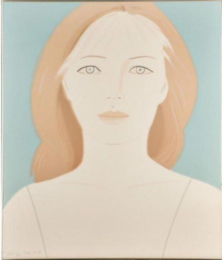 Alex Katz-Anastasia-1984