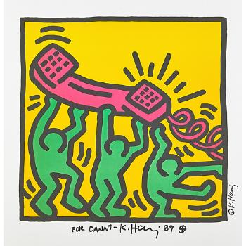 Keith Haring - Untitled-1989