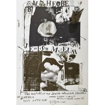 Robert Rauschenberg-Robert Rauschenberg - Jewish Museum-1963