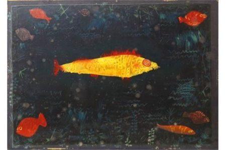 Paul Klee-Der Goldene Fisch-1926