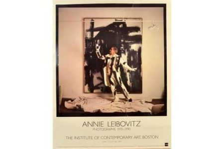 Annie Leibovitz-Exhibition poster showing Steve Martin-1992