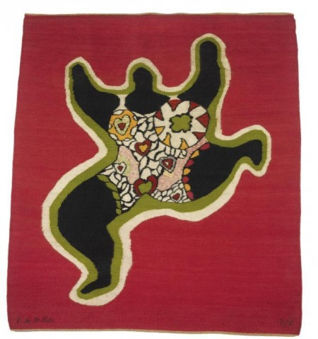 Niki de Saint Phalle-Nana, (Untitled)-1974