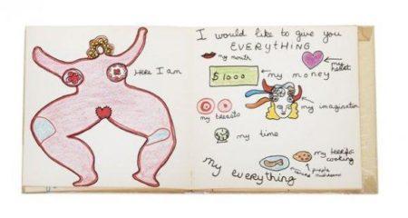 Niki de Saint Phalle-My Love, Where Shall We Make Love-1969