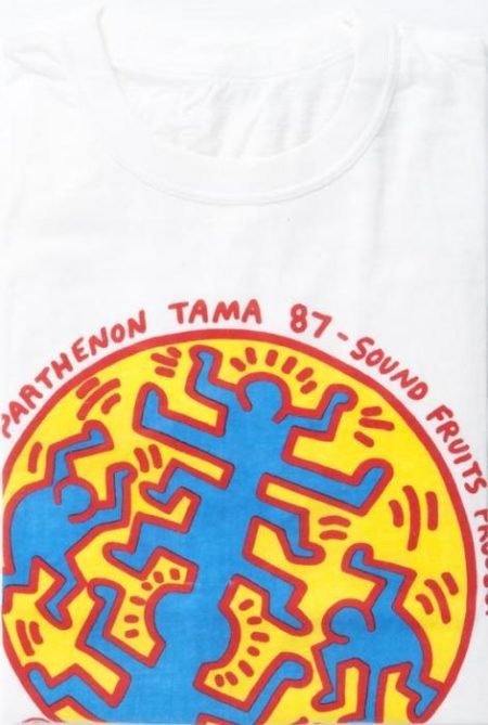 Keith Haring - Parthenon Tama 87 - Sound fruits Project-