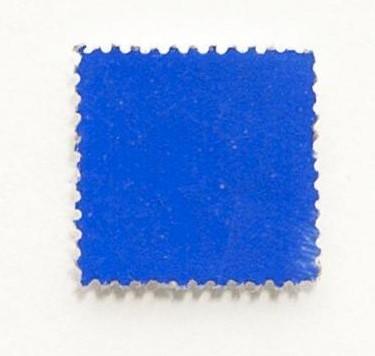 Yves Klein-Timbre bleu-1957