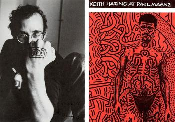 Keith Haring-Keith Haring - Keith Haring at Paul Maenz-1984