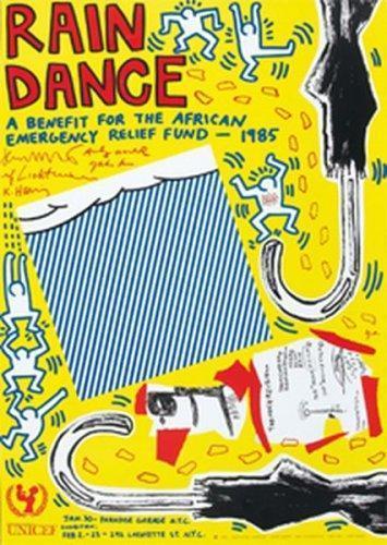 Keith Haring-Keith Haring - Rain dance-1985