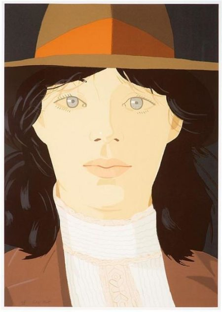 Alex Katz-The Orange Band (Maravell 115)-1979