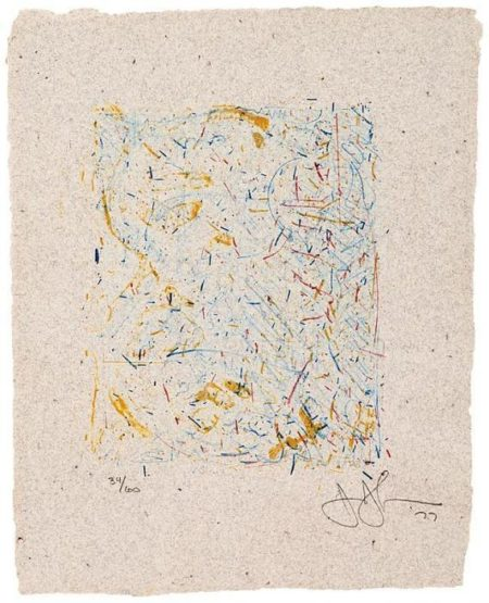Jasper Johns-0 Through 9 (ULAE 190) Gemini-1978