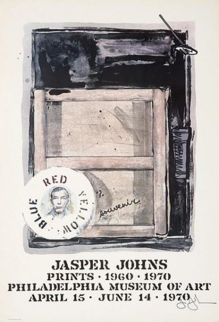 Jasper Johns-Jasper Johns: Prints 1960-1970 exhibition poster-1970