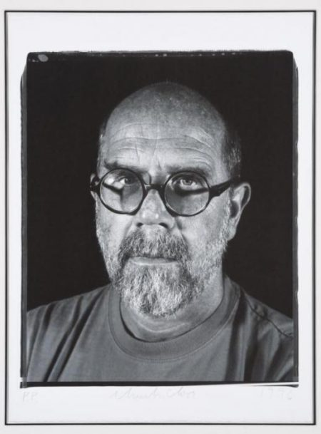 Chuck Close-Untitled (Self Portrait)-1996