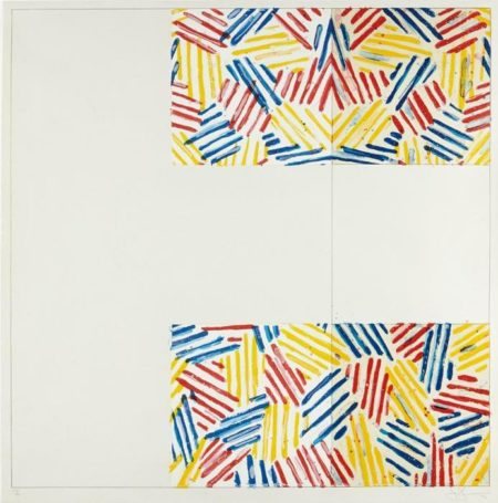 Jasper Johns-#2 (After Untitled 1975) Gemini G.E.L., (from 6 Lithographs (after UNTITLED 1975))-1976