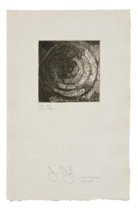 Jasper Johns-Target II-1969