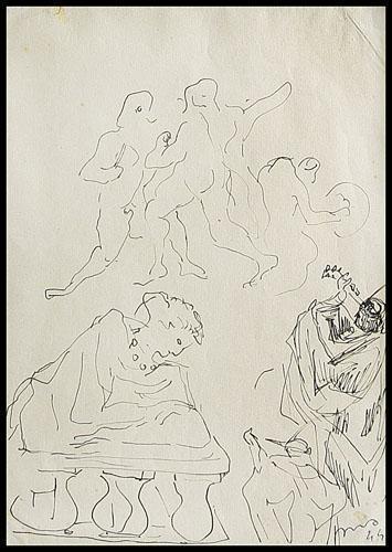 Lucio Fontana-Studi-1944