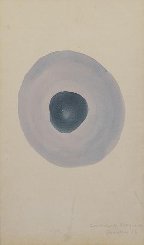 Lucio Fontana-Ambiente spaziale-1948