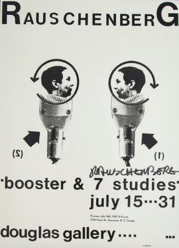 Robert Rauschenberg-Robert Rauschenberg - Exhibition Poster for Douglas Gallery-1967