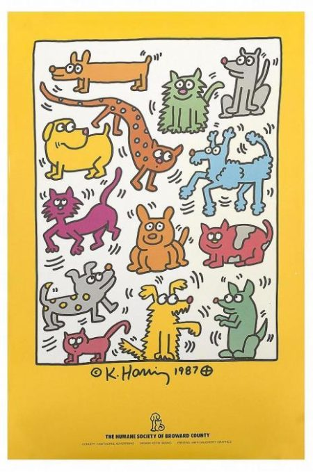 Keith Haring-Keith Haring - The humane society of broward count-1987