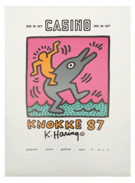 Keith Haring-Keith Haring - Casino Knokke 87-1987