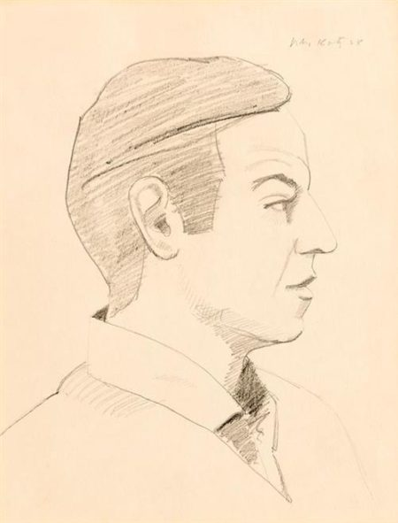 Alex Katz-Self Portrait-1968