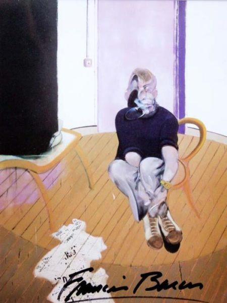 Francis Bacon-Portrait of George Dyer-