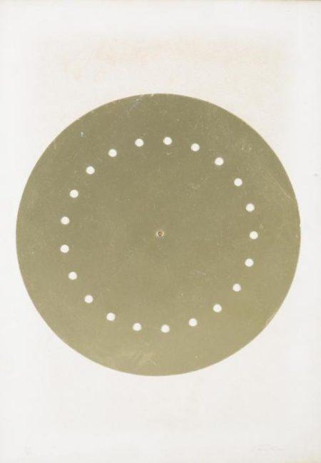 Lucio Fontana-Disco spaziale-