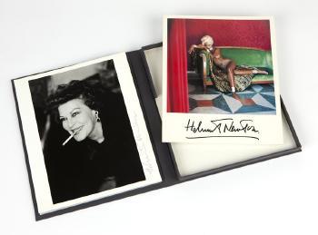 Helmut Newton-Ava Gardner-1984