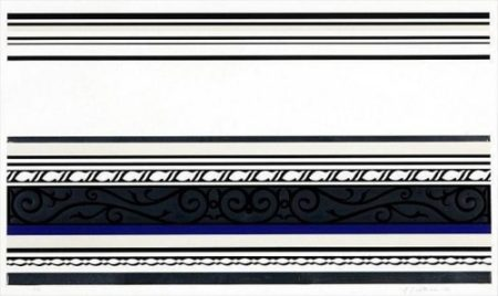 Roy Lichtenstein-Entablature IX-1976