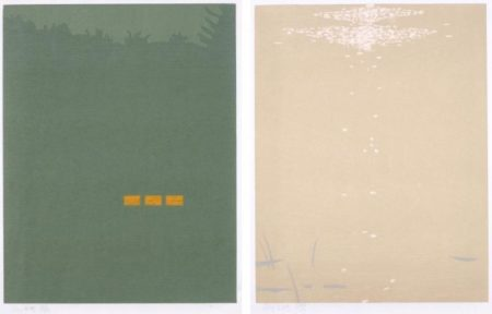 Alex Katz-Fog; Bright Light (From Northern Landscapes)-1994