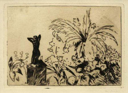 Edvard Munch-Veranda-1902