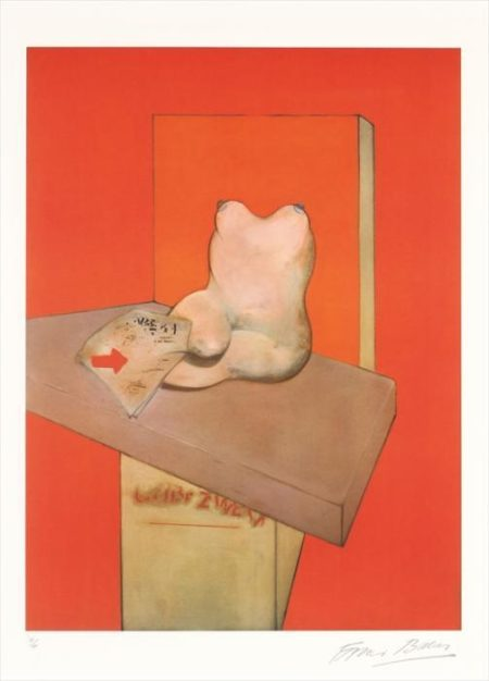Francis Bacon-Etude de corps humain d'apres Ingres-1984