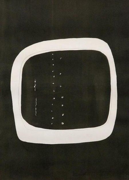 Lucio Fontana-Concetto Spaziale No.6-1961