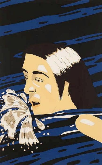 Alex Katz-Olympic Swimmer (Maravell 86; Cantz 87)-1976