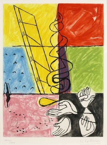 Le Corbusier-Pl.11, from Unite-1953