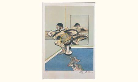 Francis Bacon-Homme ecrivant-1980