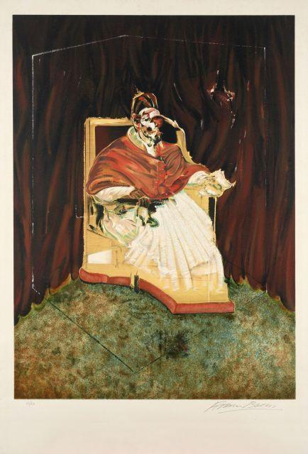 Francis Bacon-Study for Portrait of Pope Innocent X-1980