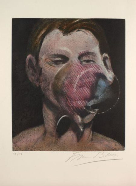 Francis Bacon-Artwork Engraved  Alexander Tacou Collection-1976
