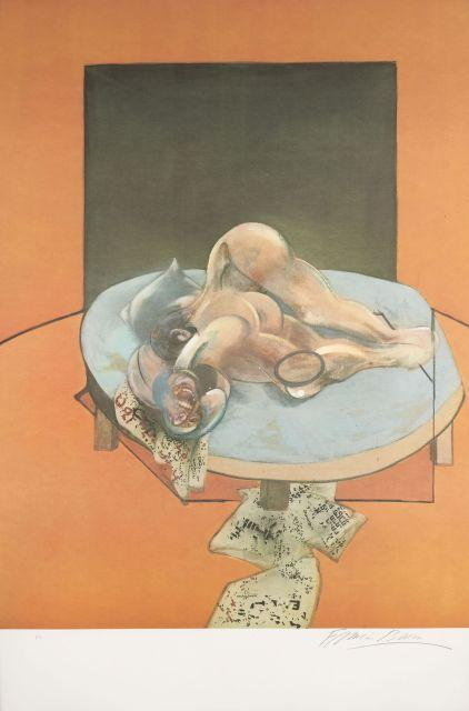 Francis Bacon-Three Studies of the Human Body-1980