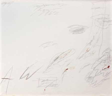 Cy Twombly-Untitled (Roma)-1962