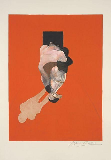 Francis Bacon-Triptych, panneau central-1983